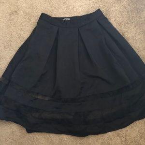NWT Express black skirt